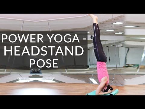how to do yoga headstand pose  sirsasana for beginners