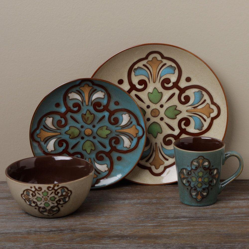 #Overstock #dinnerware #Tabletops #Unlimited #Gallery #Porto #16-piece & Overstock #dinnerware #Tabletops #Unlimited #Gallery #Porto #16 ...