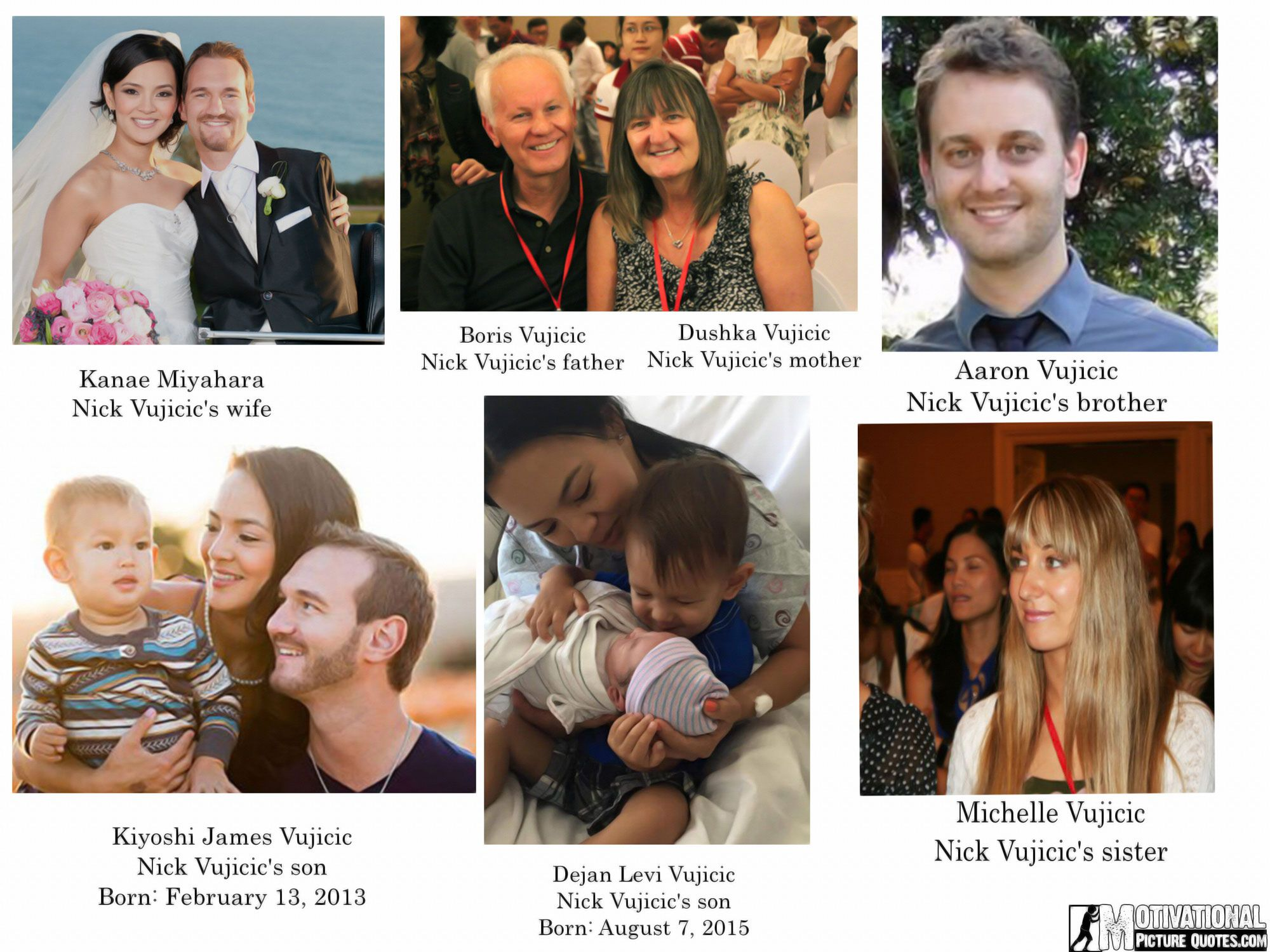 nick vujicic family pictures real life inspirational stories nick vujicic family members
