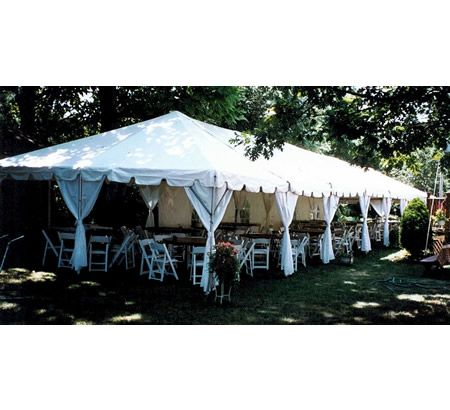 Party Tent 20 X 40 Canopy White Party Rental San Diego