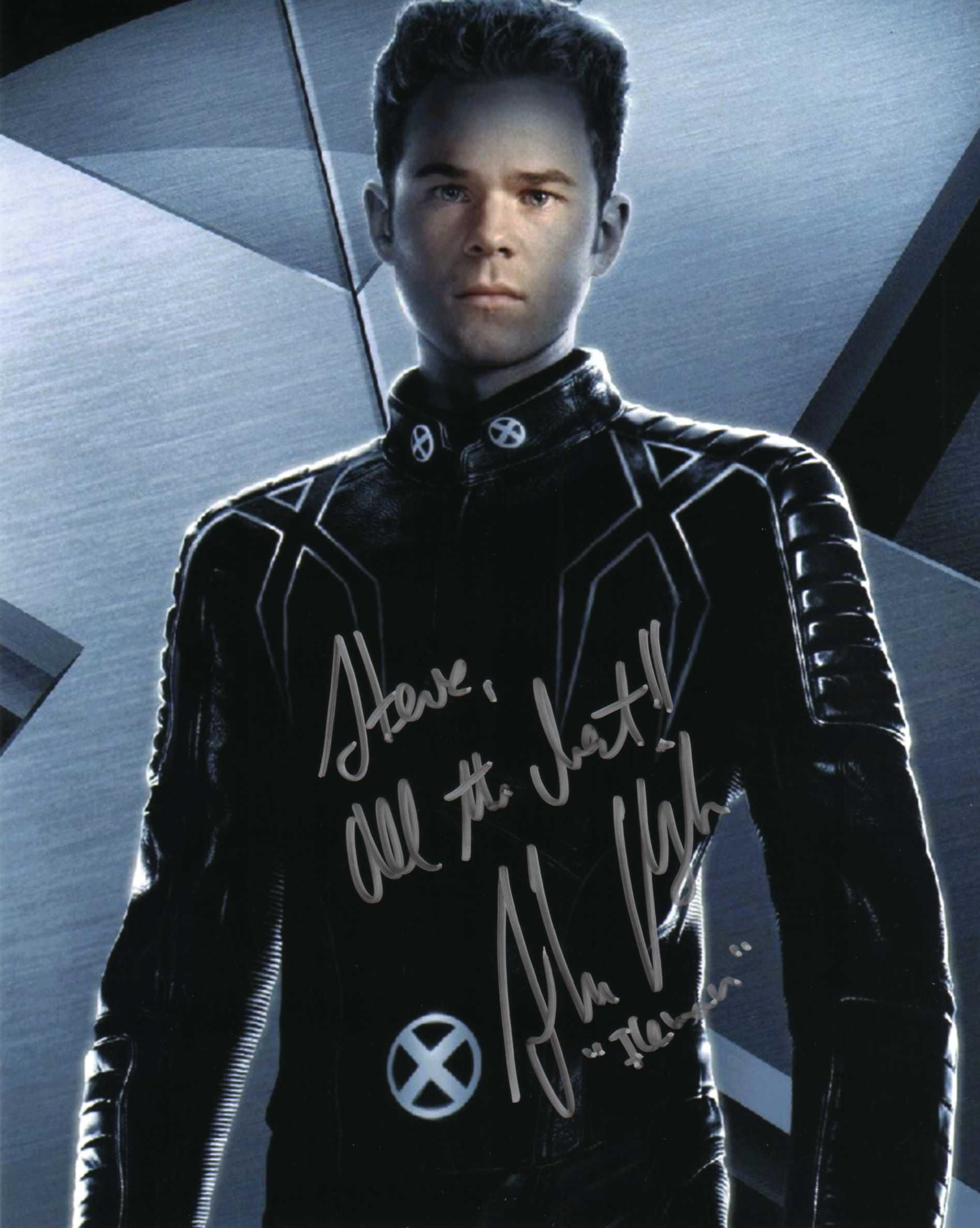 Shawn Ashmore X Men The Last Stand Signed At Wizard World