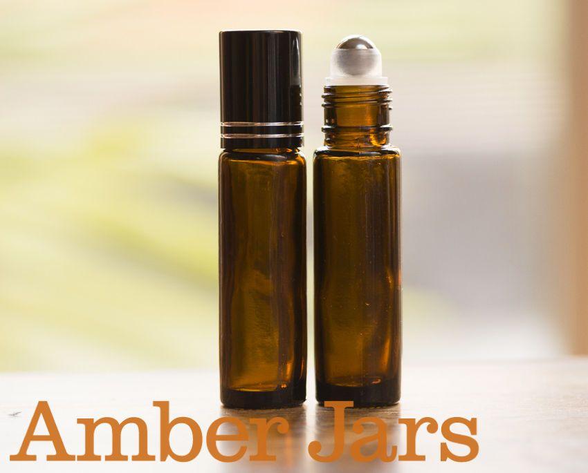12 X 10ml Amber Glass Roller Ball Bottles Aromatherapy Perfume Lip Gloss Roller Ball Bottle Aromatherapy Perfume Aromatherapy Bottles