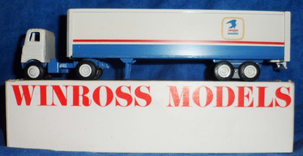 Winross US MAIL Wrap it,Trans it, Parcel Post  Truck Trailer         D10 #Winross #none