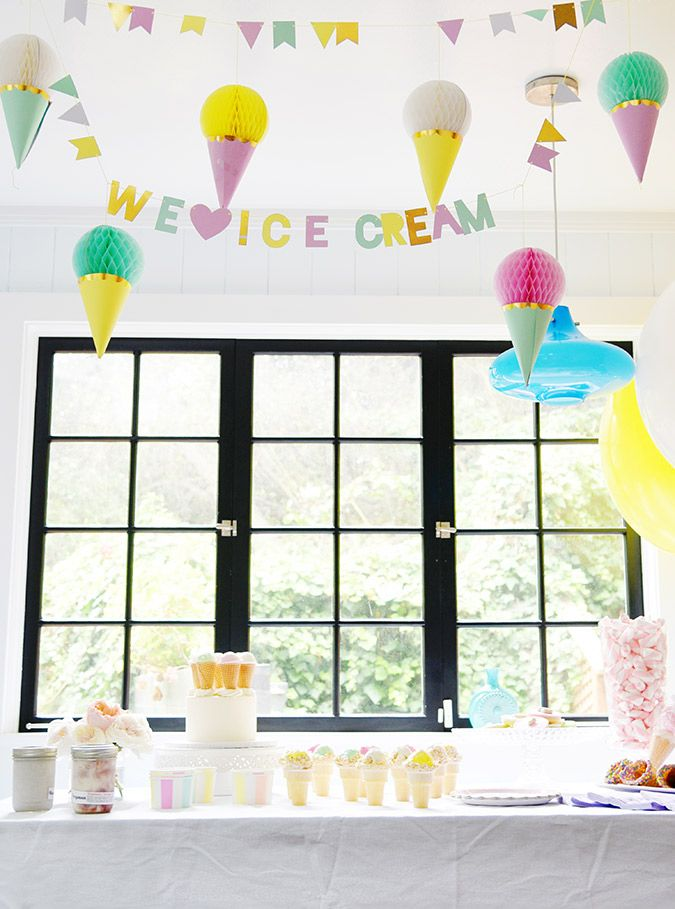 Ice cream social tips