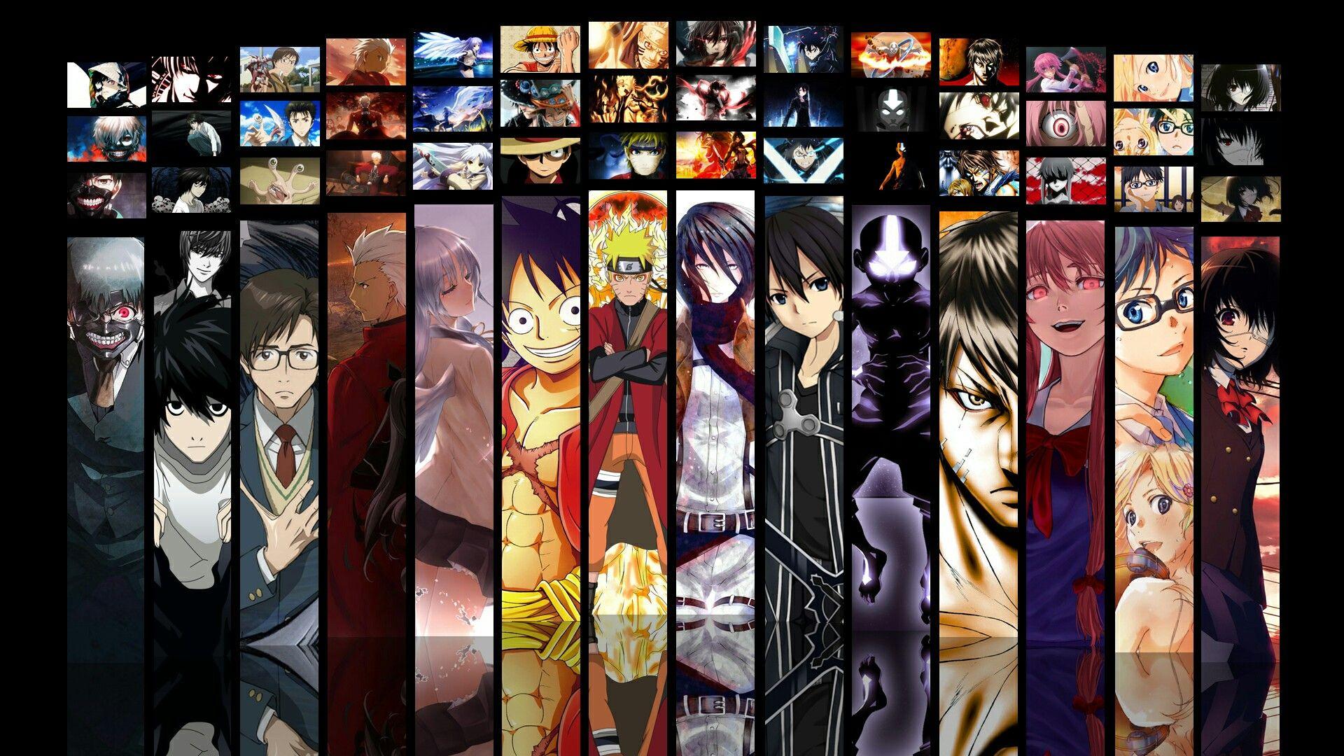 épinglé Par Otaku Itachi Sur Anime Pinterest Anime Collage Et