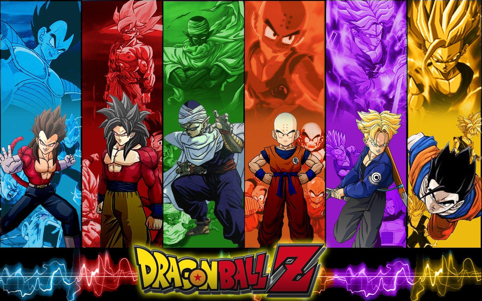 Google chrome themes dragon ball z - Dragonball Z By Photshopmaniac Deviantart Com On Deviantart