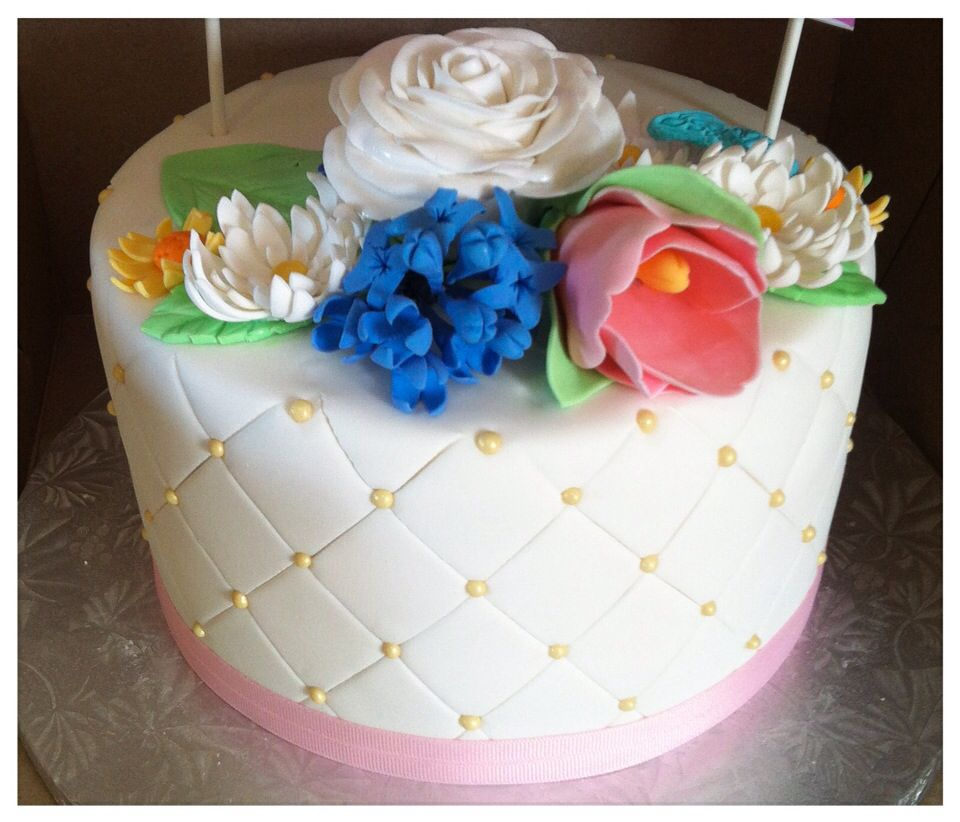 Spring is finally here and what better way to send a happy birthday spring is finally here and what better way to send a happy birthday cheer than a cake with flowers to remind us all of this wonderful season izmirmasajfo