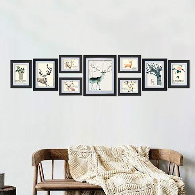 Giftgarden Cornici per Foto 9x13cm con Passepartout Set da