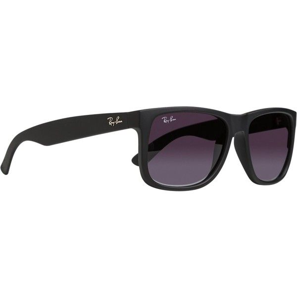 db3935bb45 Ray-ban Justin Classic ( 115) ❤ liked on Polyvore featuring accessories