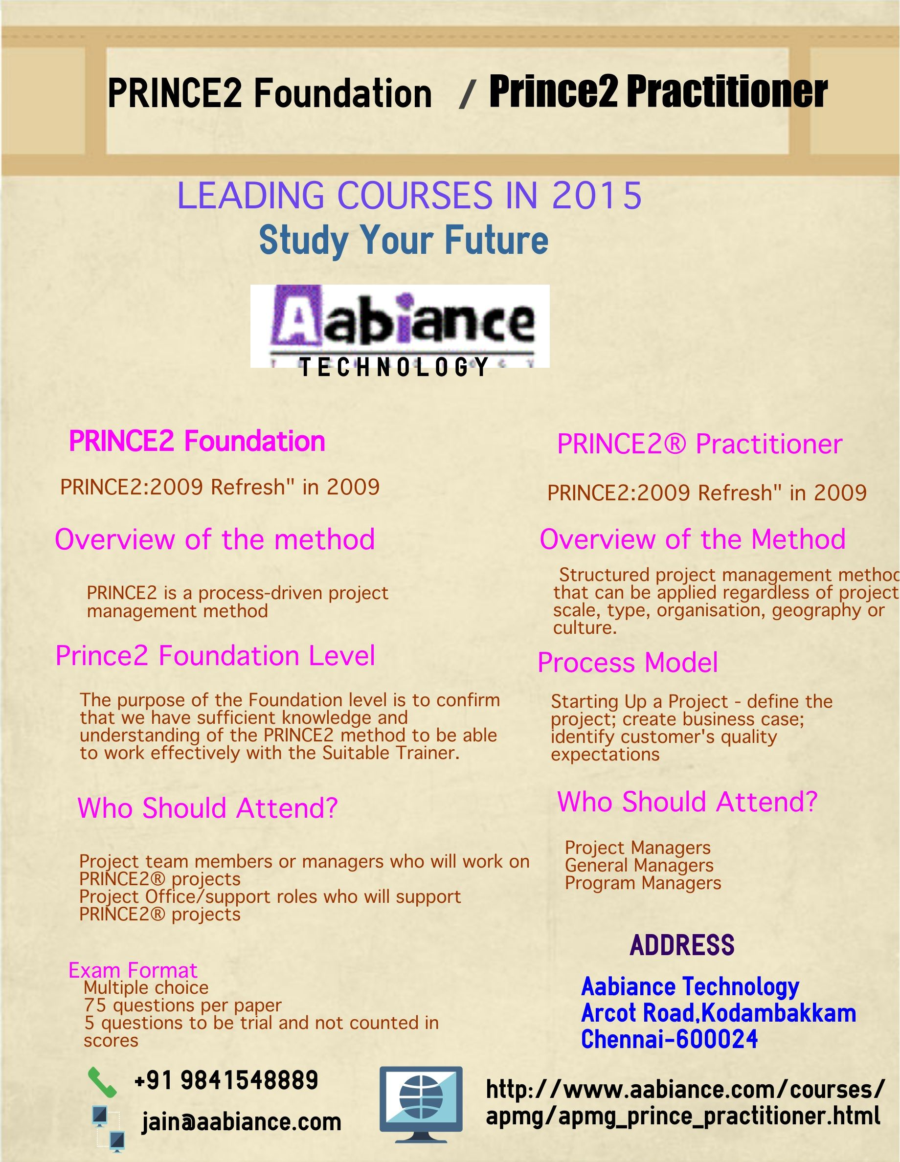 Study About The Courses Prince2 Foundation To Get Your Dream Jobs In