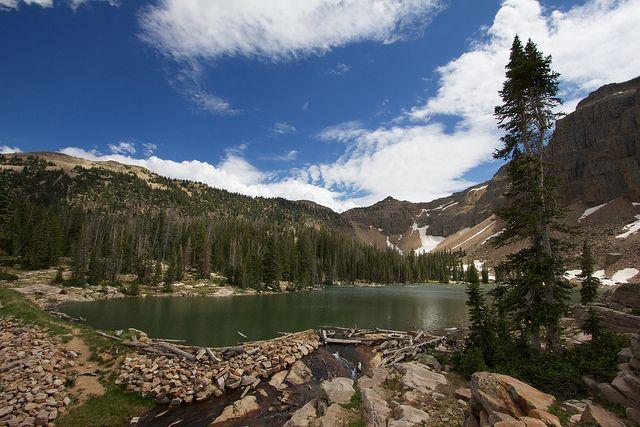 Uintas Ibantik Lake Loop Utah Lakes Lake Utah