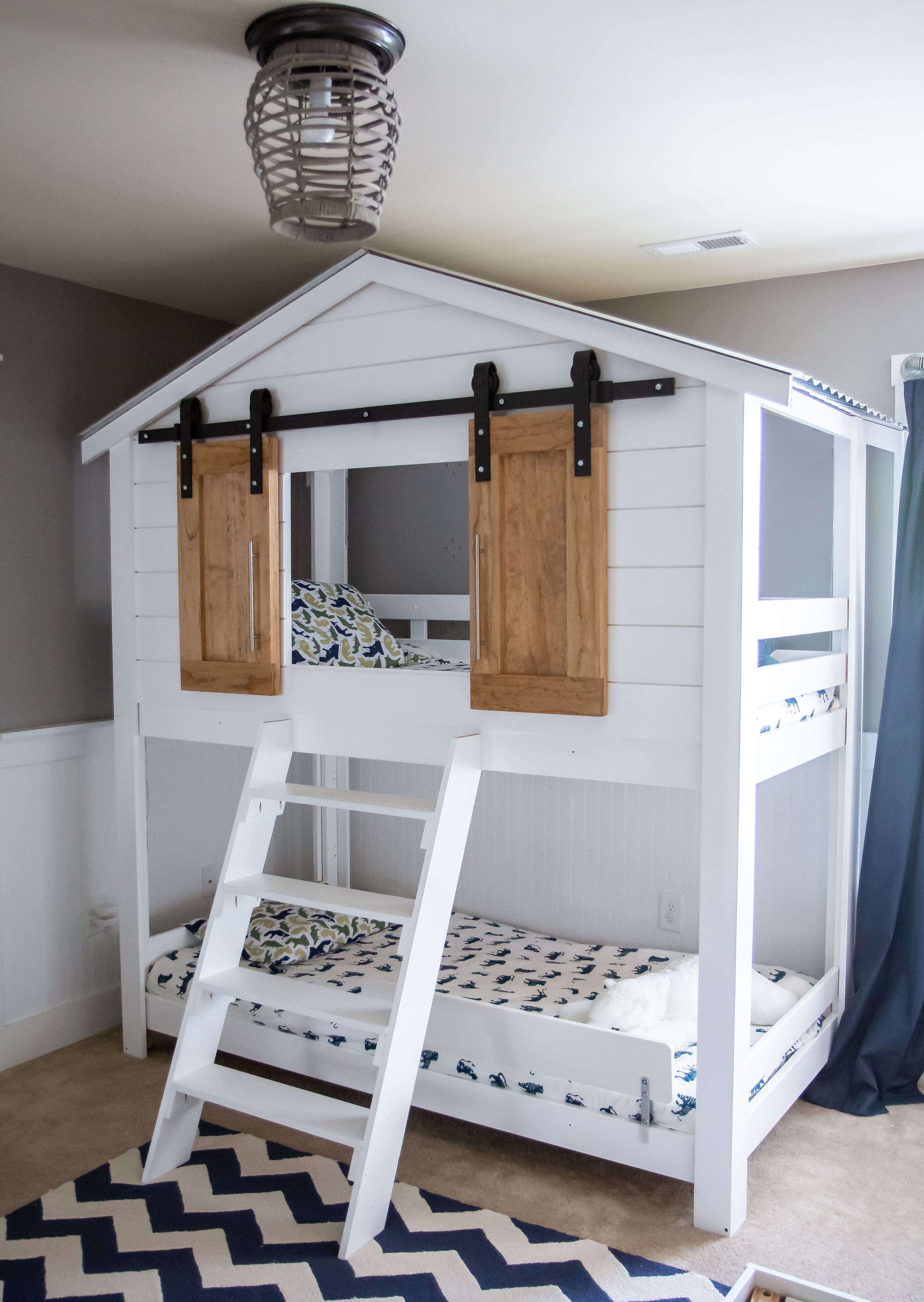 Mydal Ikea Bunk Bed Hack Tree House Bunk Bed House Beds For Kids Ikea Bunk Bed