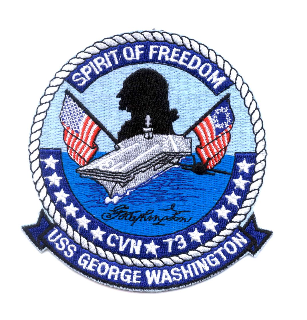 Cvn 73 uss george washington ship insignia aircraft carrier ship cvn 73 uss george washington ship insignia buycottarizona