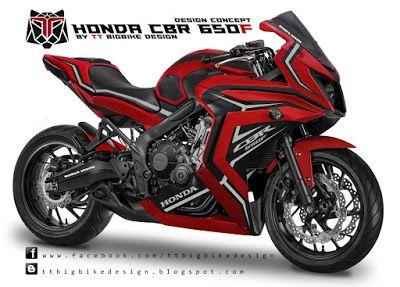 TT BIGBIKE DESIGN HONDA CBR650f CONCEPT 3