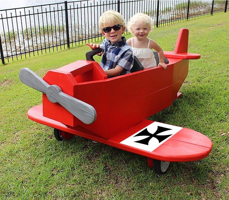 Photo of Juega planes de avión, Red Baron para entrada y jardín