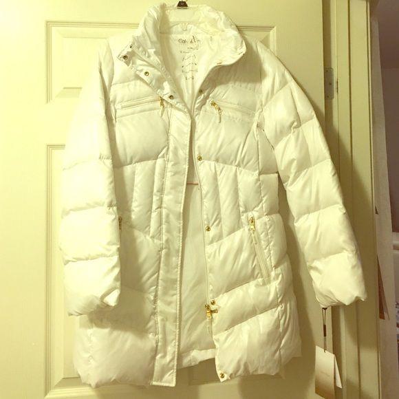 Calvin Klein Winter Puffy Jacket New Calvin Klein Winter Jacket Calvin Klein Jackets & Coats Puffers