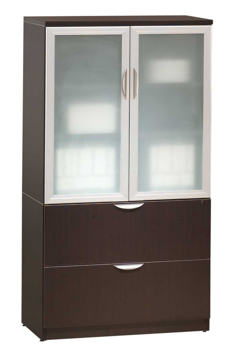 Best Of Homestar 2 Door Glass Storage Cabinet