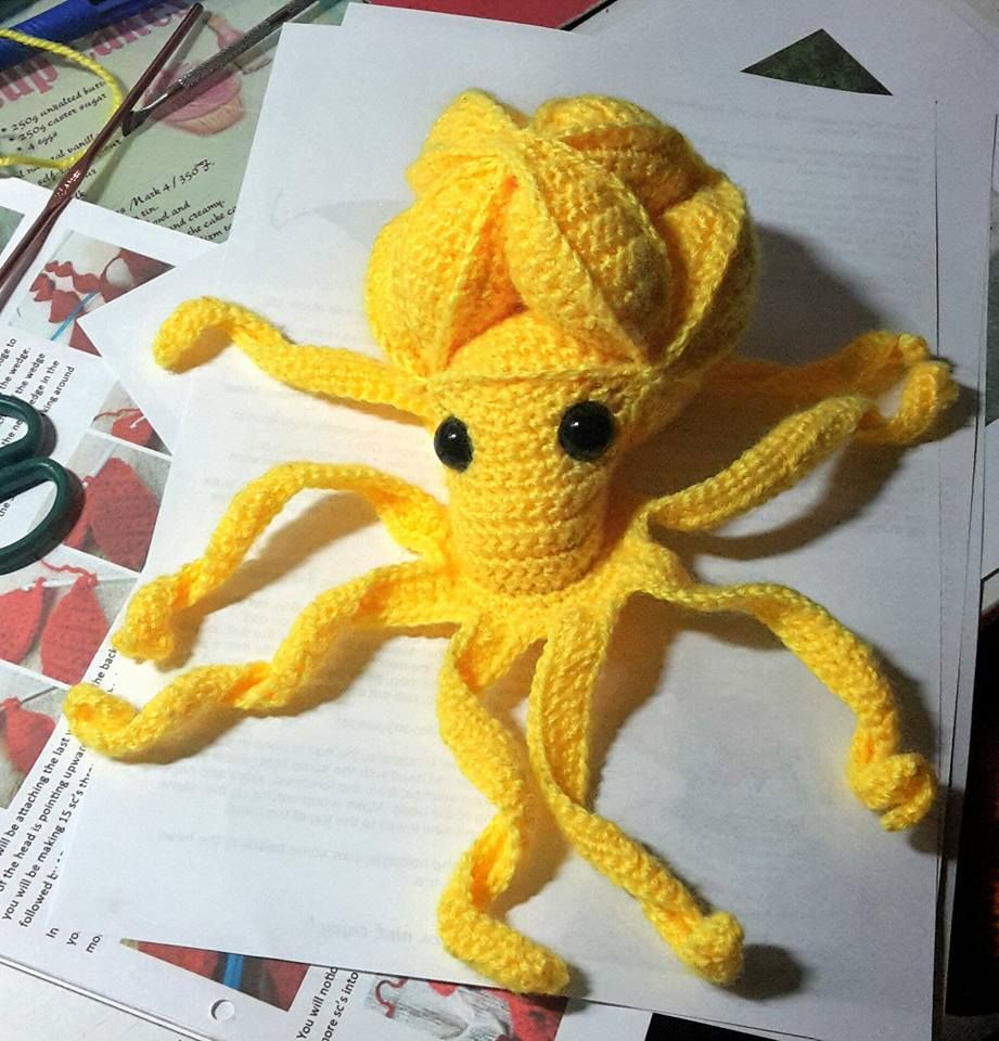 Amish Puzzle Ball Octopus | Everything crochet | Pinterest ...