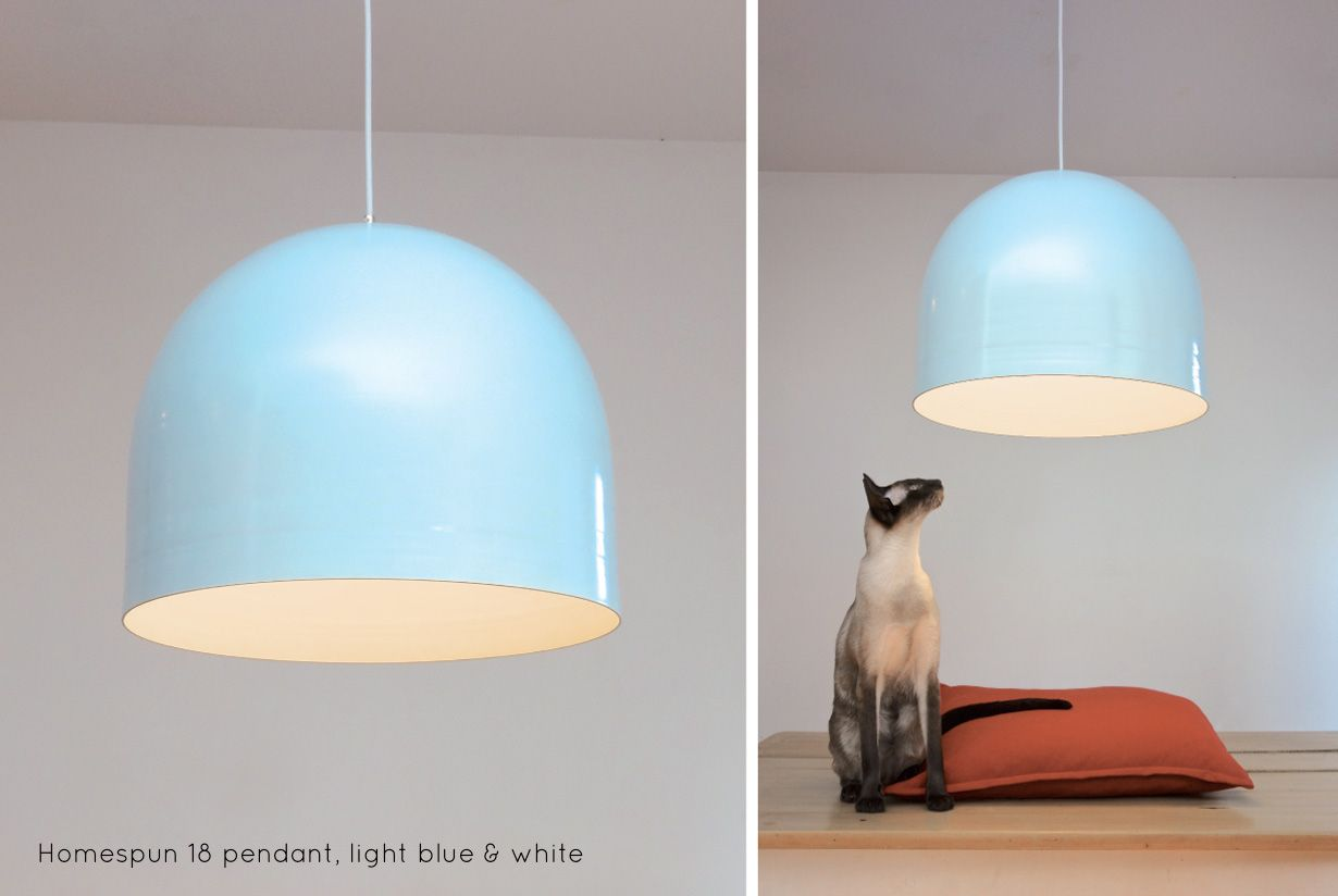 """Homespun 18"""" Metal Pendant Light 