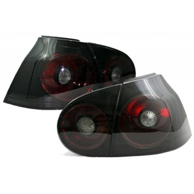 Type: Taillight Black CherryColor: Black and Cherry RedLens: PlasticBulbs Included: NoBulb Specifications: Uses stock panel / bulb socketsThe plastic blocking stud on some vehicles may need to be removed in order for these taillights to fit.Comes in a pairFor Right Hand Drive Golf, GTI & R32 owners these taillights requires a simple swapping of the reverse light wire with the rear fog light wire.