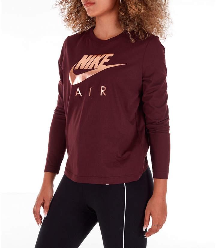 Nike Women's Sportswear Air Long-Sleeve