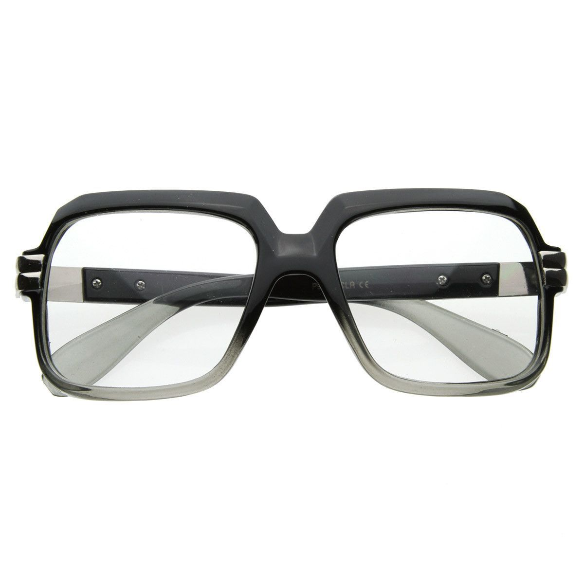 Old School Hip Hop Run Dmc Style Square Vintage Square Glasses 2981 Square Glasses Hip Hop Fashion Glasses