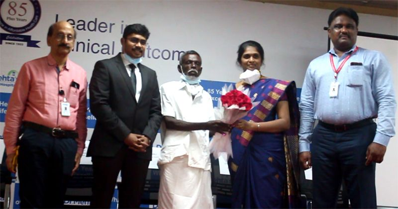 Tamil Nadu's 1st complete Laparoscopically attempted hypopharyngeal cancer surgery @ Mehta Hospital