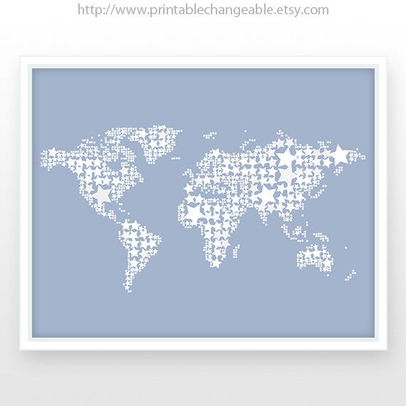 World map poster boy nursery printable by printablechangeable 500 world map poster boy nursery printable by printablechangeable 500 gumiabroncs