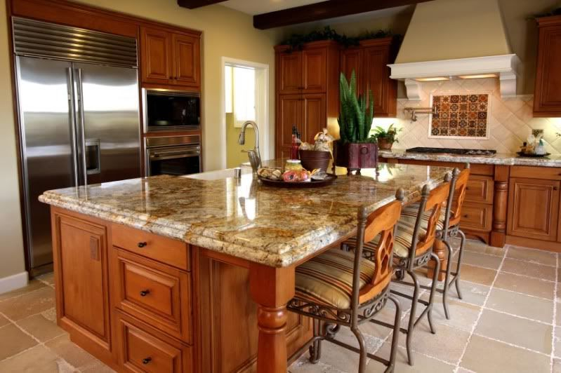 17 Best images about Granite Countertops on Pinterest | Honey oak cabinets,  Cabinets and Countertops