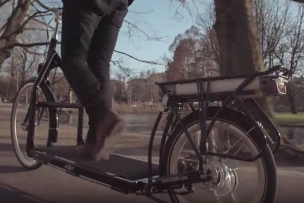 The Lopifit Is The World First Bike Treadmill Bike You Walk On