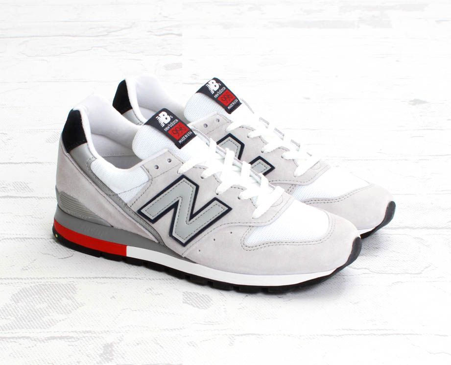New Balance M996 GreyWhiteRed | Sole Collector | I Love