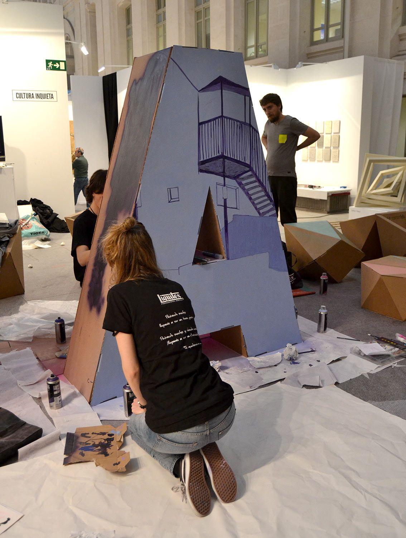 Muebles De Cart N Para Art Madrid Art Madrid Feriados Y Cart N # Muebles Sustentables Df