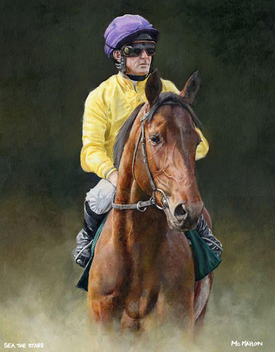 Sea The Stars And Mick Kinane Limited Edition Horse Racing