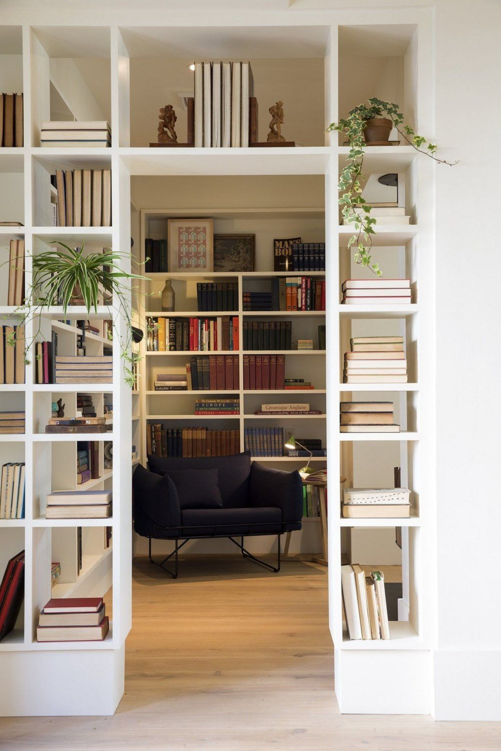 Interior Design Library Room: Beautiful And Creative Partition Wall Design Ideas To See