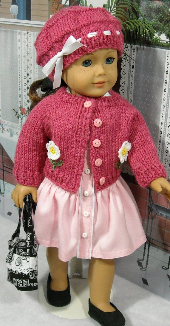 Pink Sweater and Dress Set for Contemporary 18 inch Girls like Saige ...