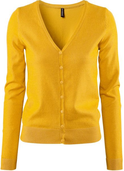 Women's Yellow Cardigan | Yellow sweater, Mustard and Yellow cardigan