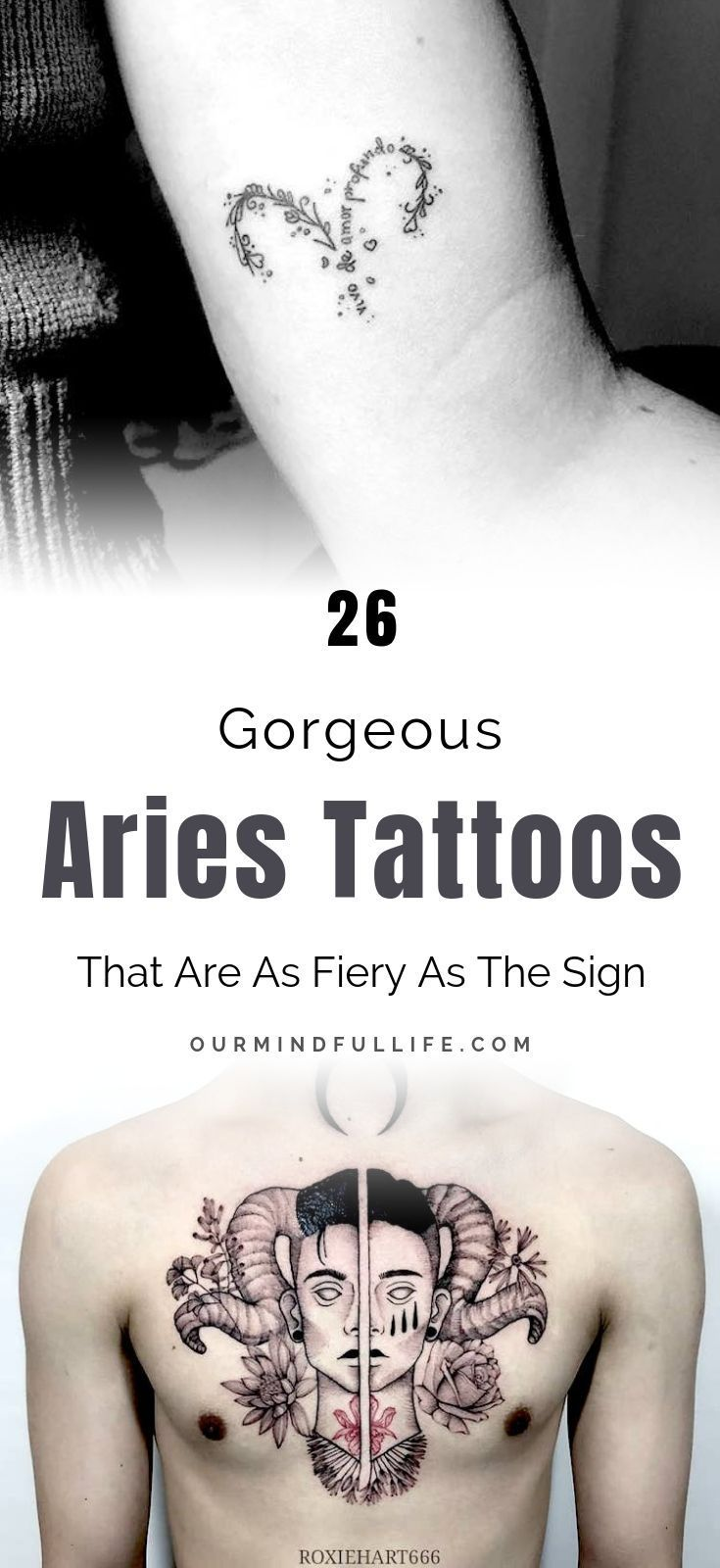 31 Aries Tattoos That Are As Fiery As You Are Tattoos