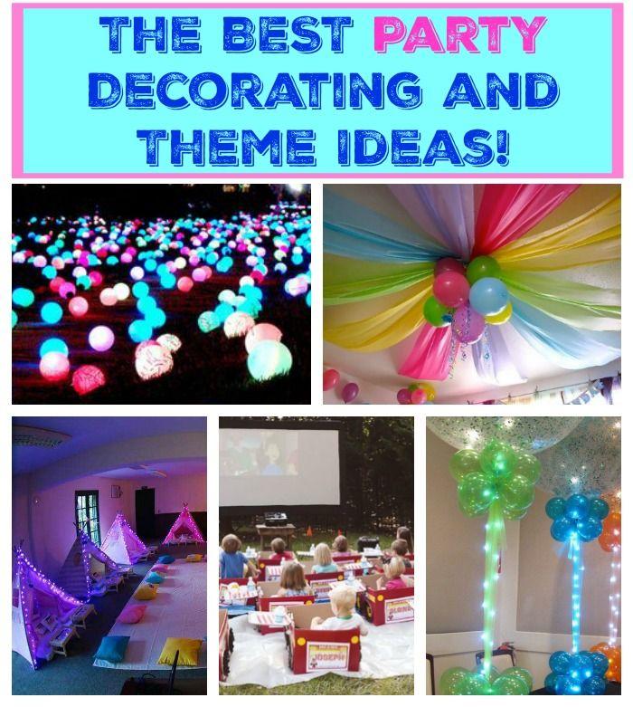 Diy Party Decoration Ideas Kids