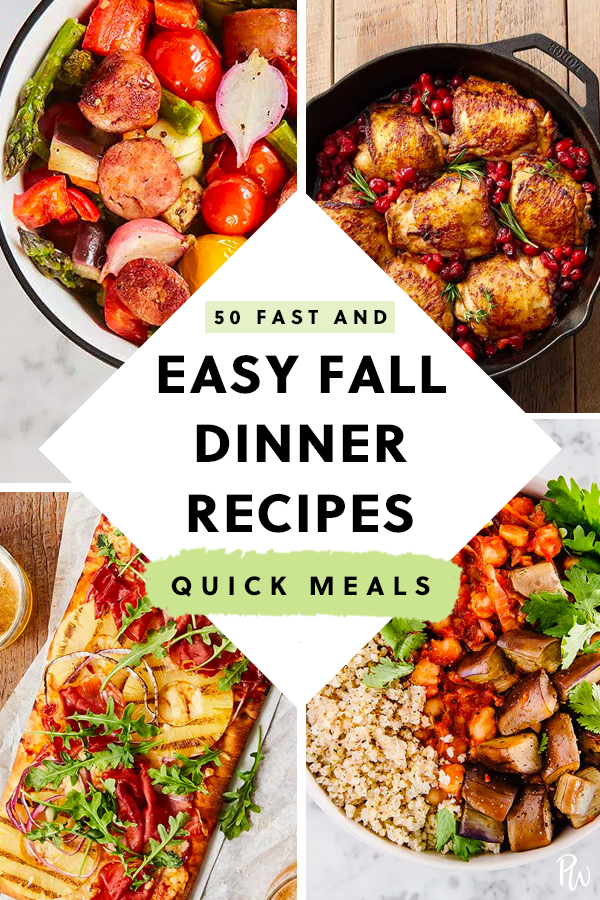 50 Easy Fall Dinner Ideas for Lazy People images