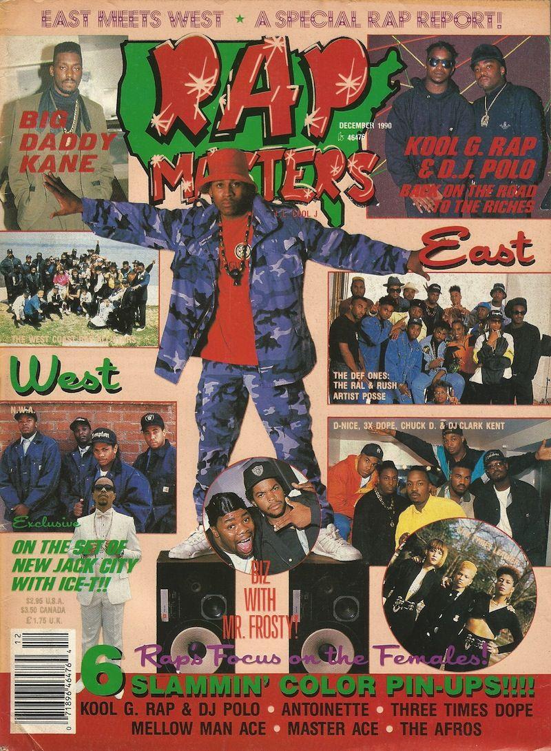 Rap Masters (December 1990)