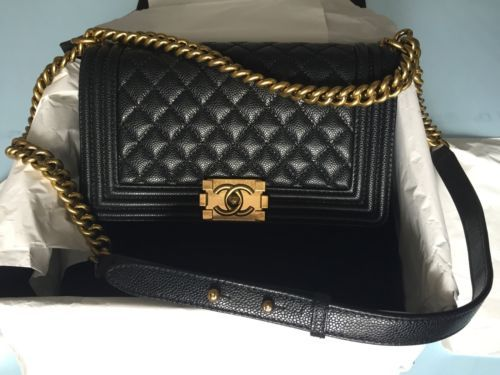 New CC Boy Bag Black Quilted Caviar Old Medium https://t.co/0tciaHFFvR https://t.co/ZvqL4YdXND