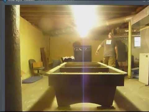 How To Disassemble A Slate Pool Table Video Mp4 Projects