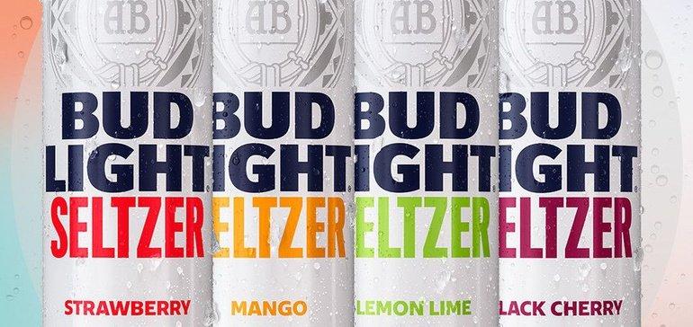Bud Light Seltzer Hits Shelves Next Year As Ab Inbev Invests 100m In The Segment Food Dive Ab Inbev Bud Light Beer Company