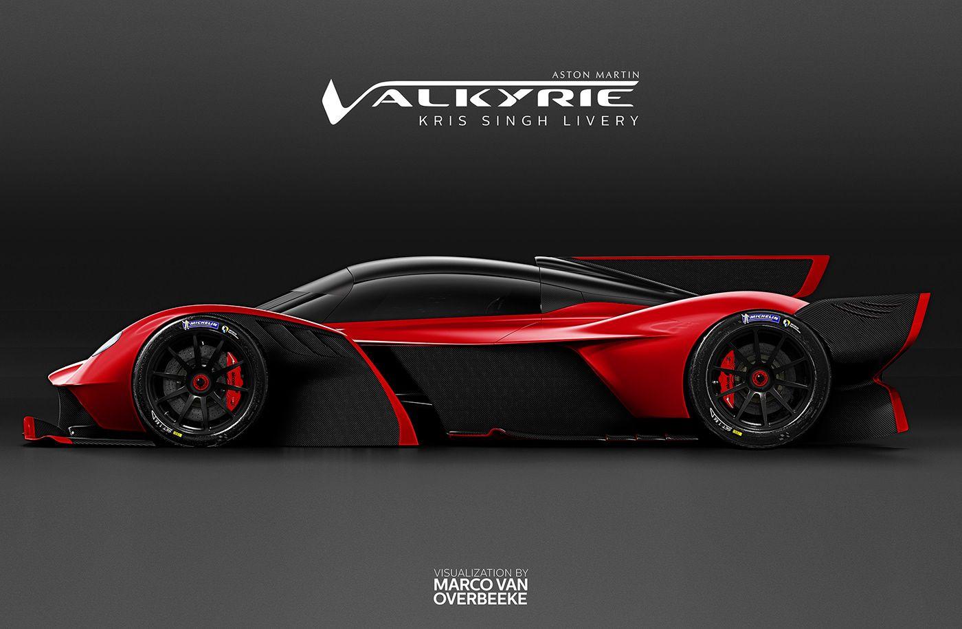 Aston Martin Valkyrie Kris Singh Custom Spec On Behance Aston