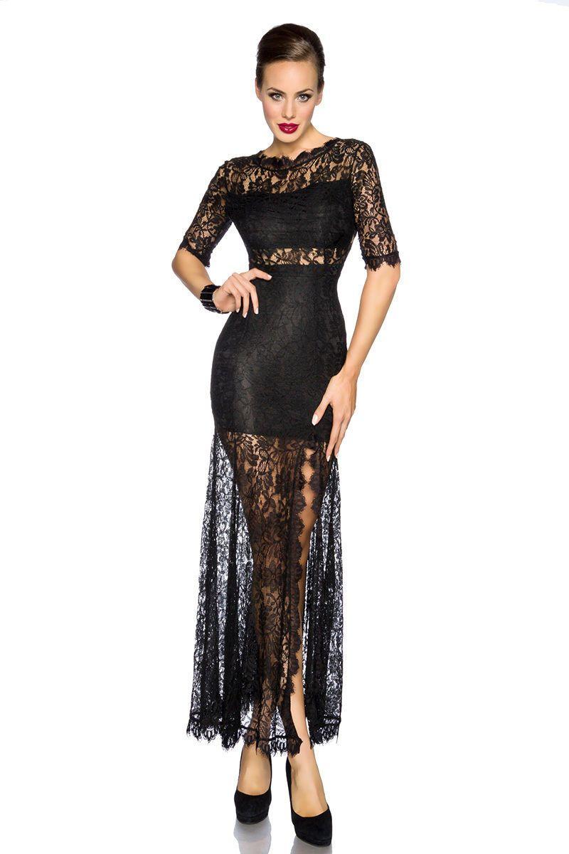 bee07a2a57 Elegant Maxi Dress Dress Evening Dress Party Dress Lace Long 34 36 38 40 on  Luulla