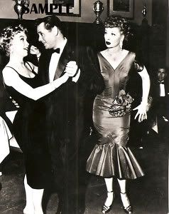 Barbara Eden Desi Arnaz Lucille Ball 1957 Country Club