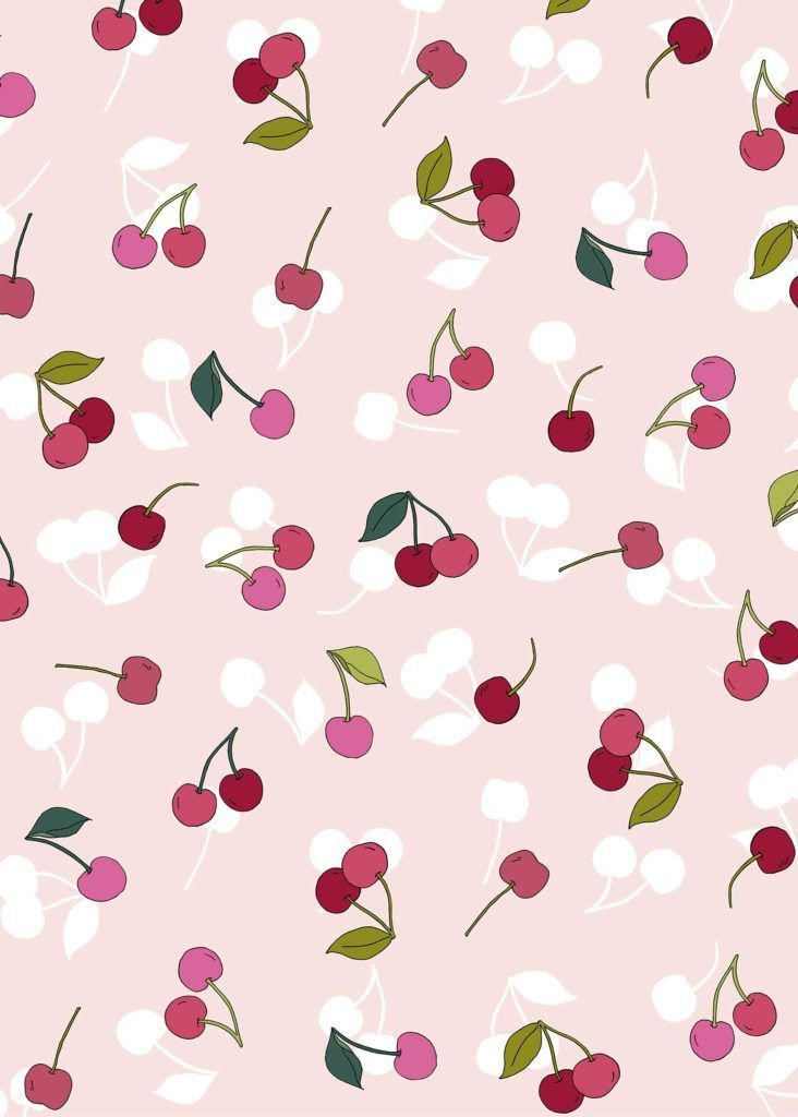 Cherry desktop and iPad wallpaper Wallpaper Aesthetic