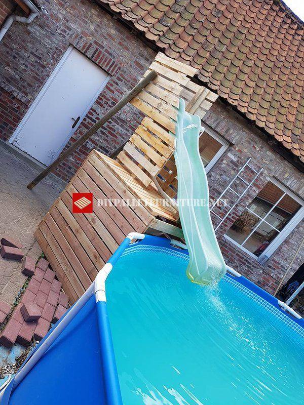 Pin Von Angies Auf Terasse Garten Diy Schwimmbad Pool Rutsche Gartenpools