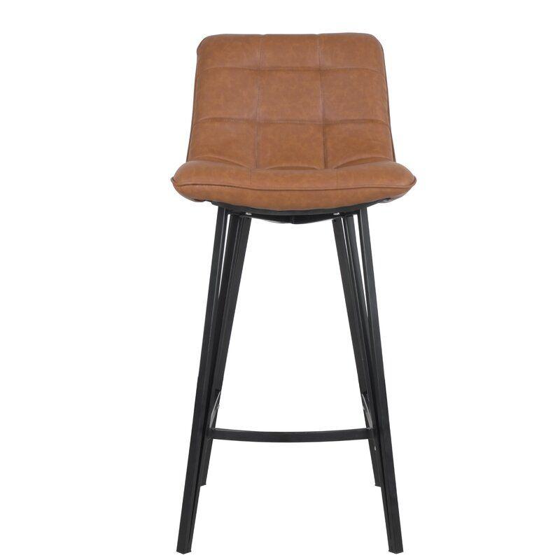 Superb Nicolasa Leather Counter 28 3 Bar Stool Kitchen In 2019 Creativecarmelina Interior Chair Design Creativecarmelinacom