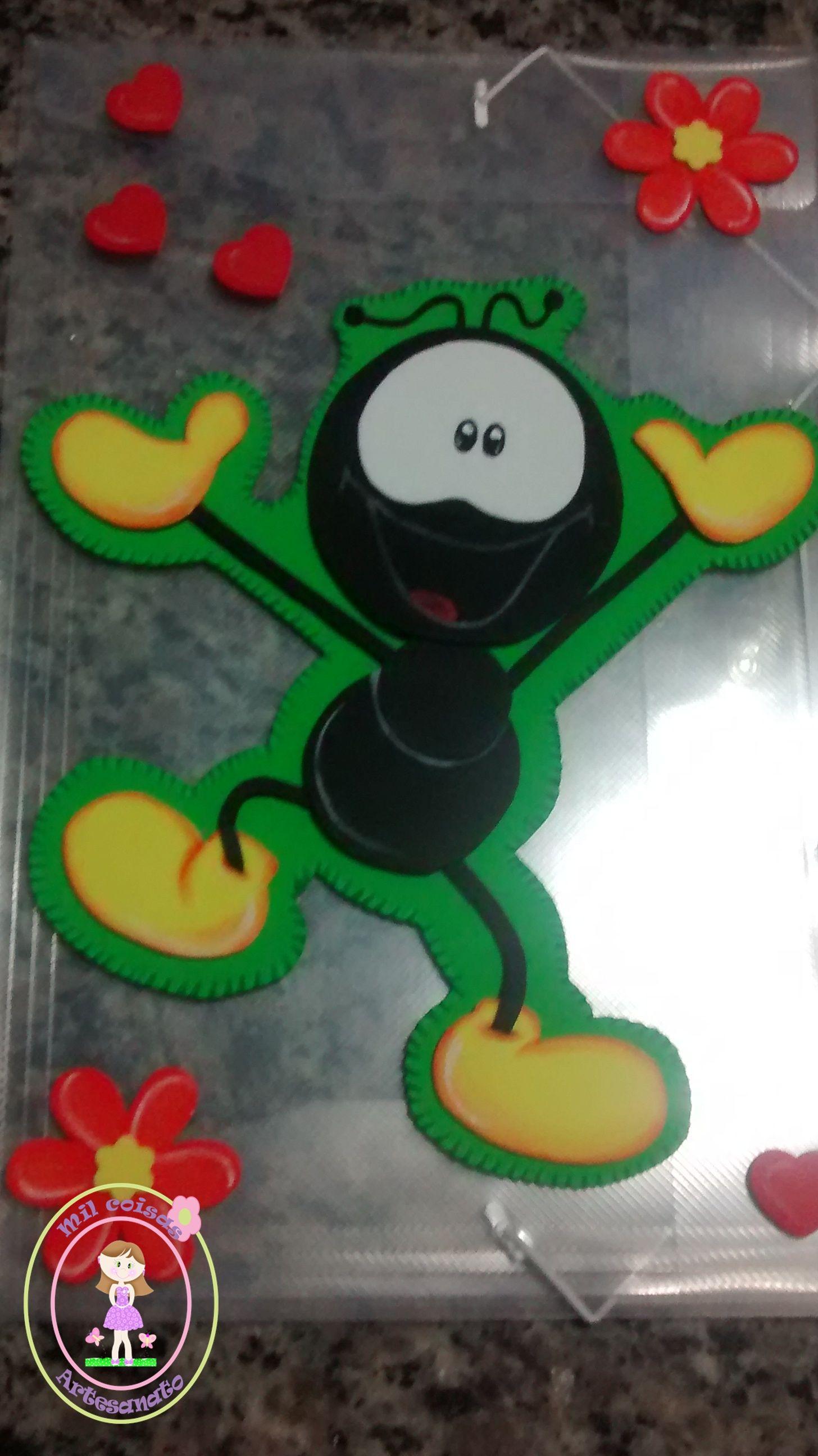Classroom Decoration Ideas For Kids ~ Pasta com aplique em eva do smilinguido foamy